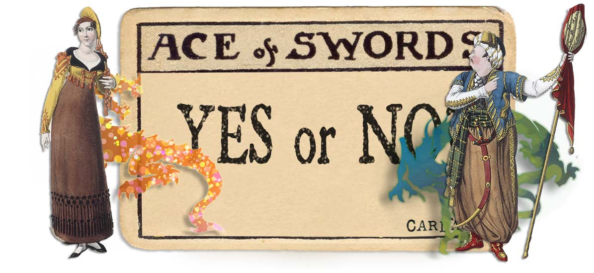Ace of swords card yes or no main