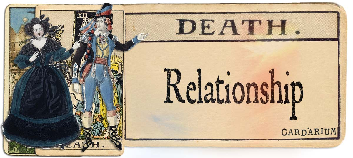 Death meaning for relationship