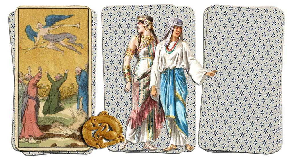 Egyptian Grand Etteilla Tarot Judgement
