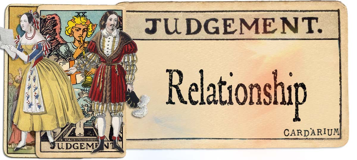 Judgement meaning for relationship