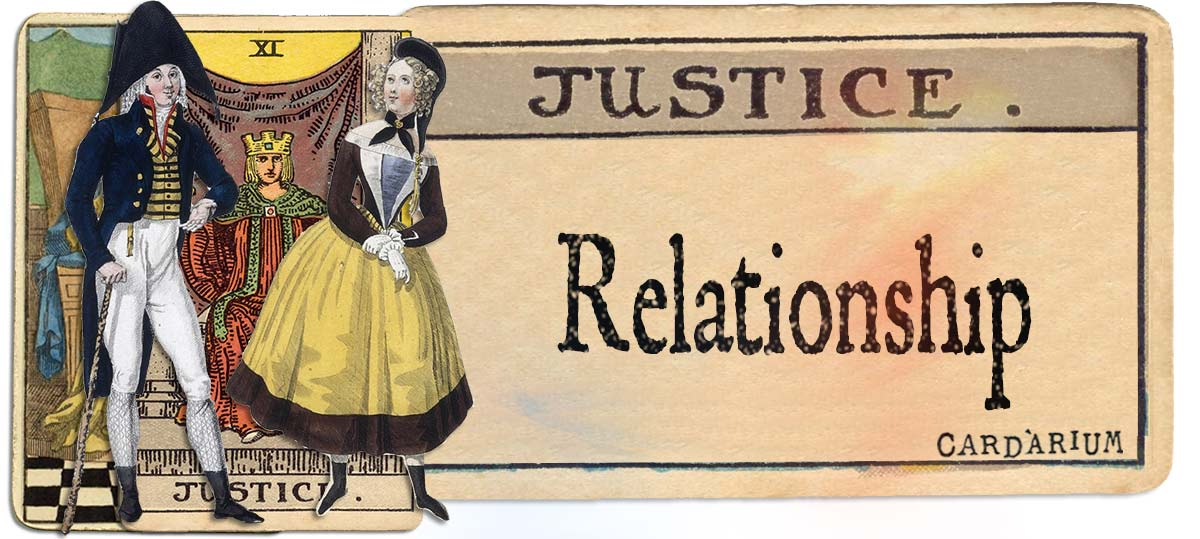 Justice meaning for relationship