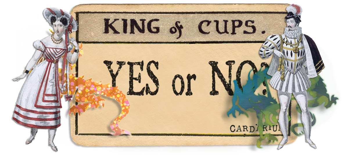 King of cups card yes or no main