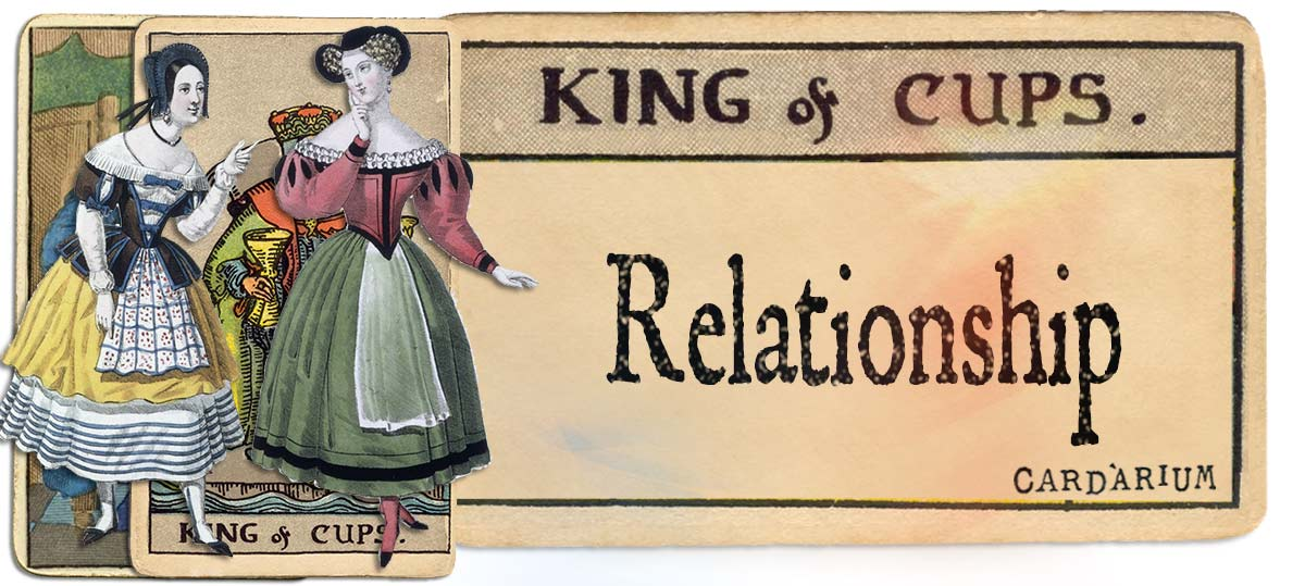 King of cups meaning for relationship