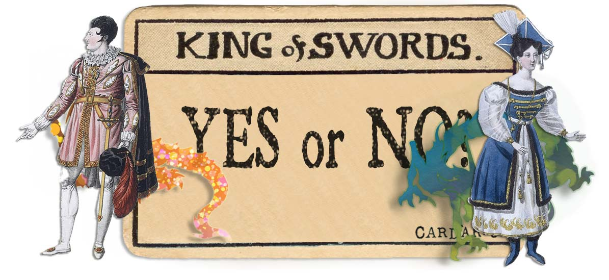 King of swords card yes or no main