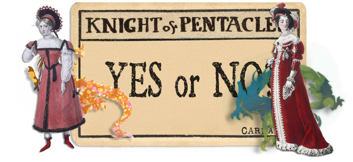 Knight of pentacles card yes or no main