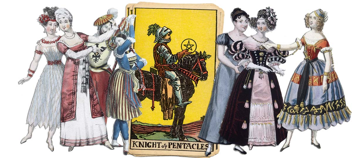 Knight of pentacles meaning for job and career