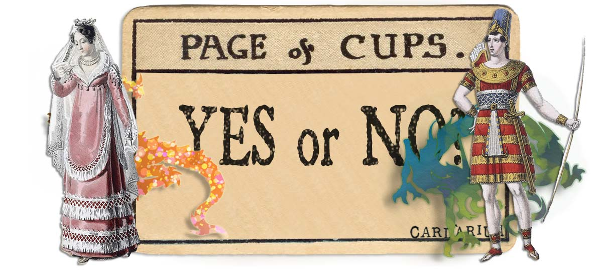 Page of cups card yes or no main