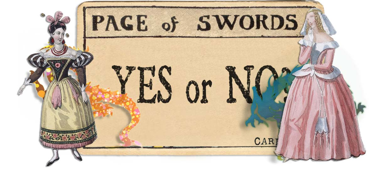 Page of swords card yes or no main