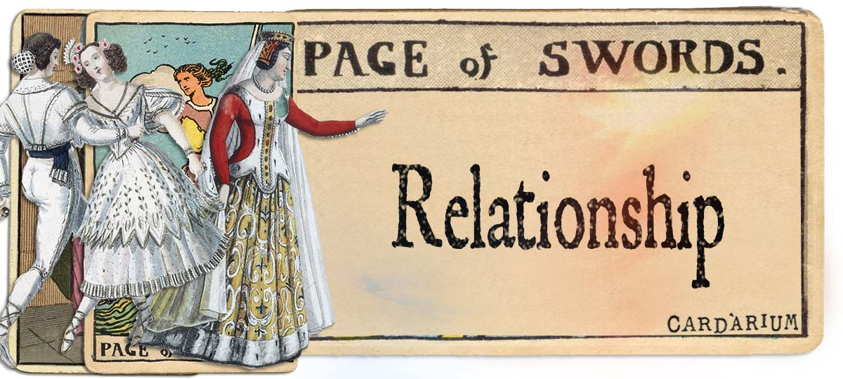 Page of swords meaning for relationship
