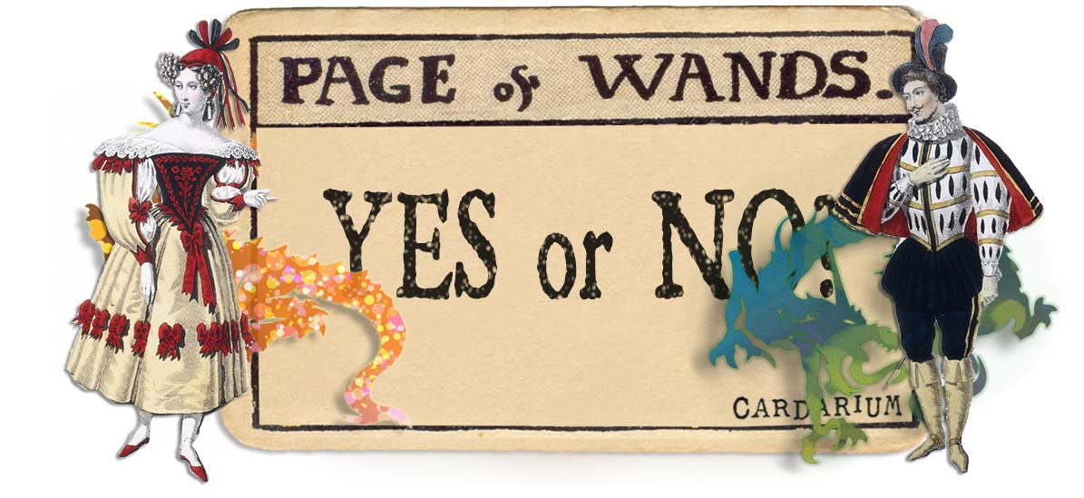 Page of wands card yes or no main