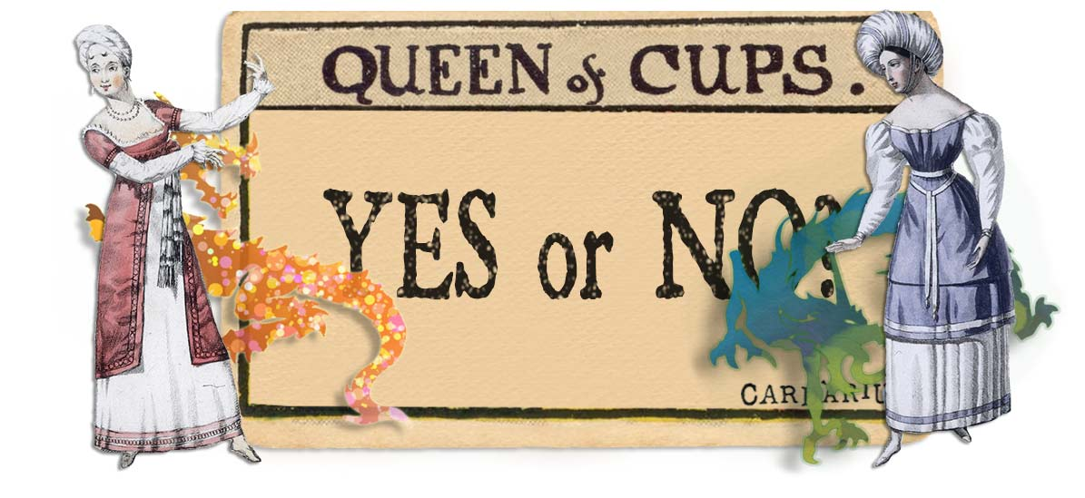 Queen of cups card yes or no main