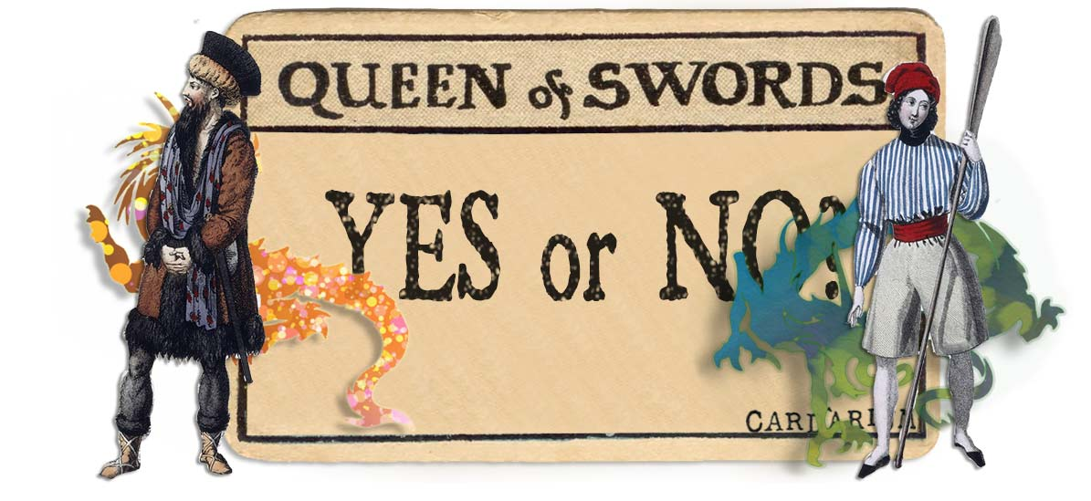 Queen of swords card yes or no main