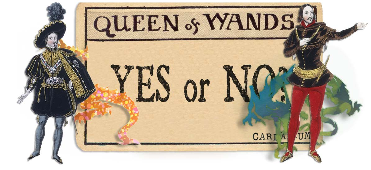 Queen of wands card yes or no main