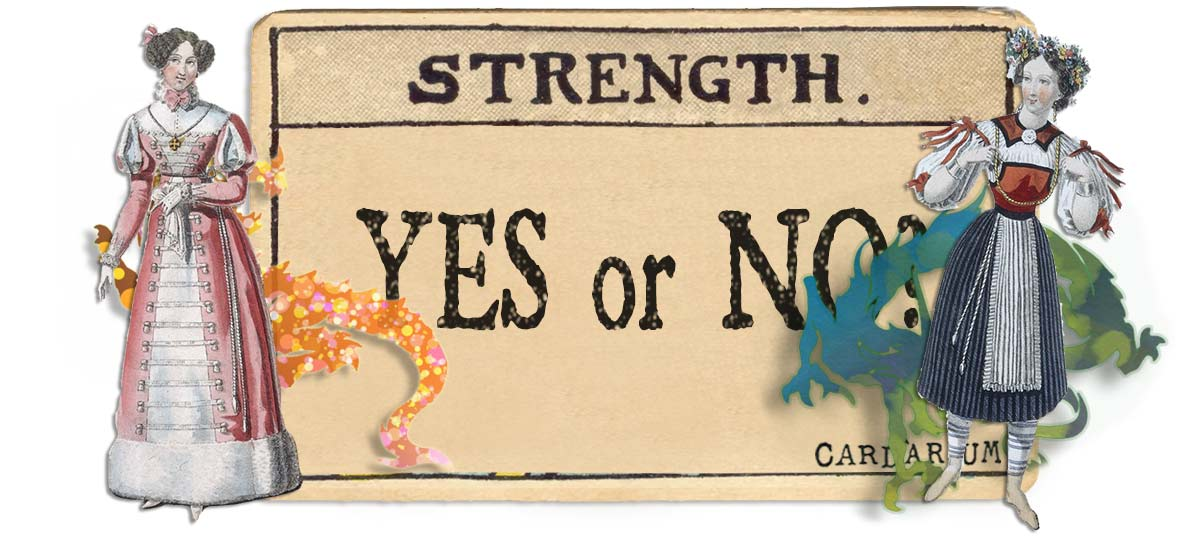 Strength card yes or no main