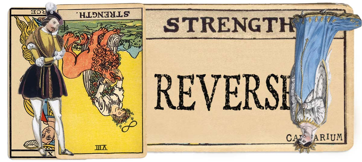Strength reversed main meaning