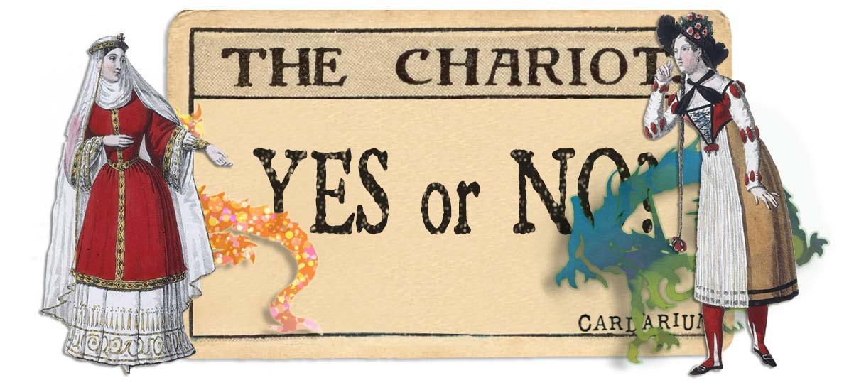 The Chariot card yes or no main