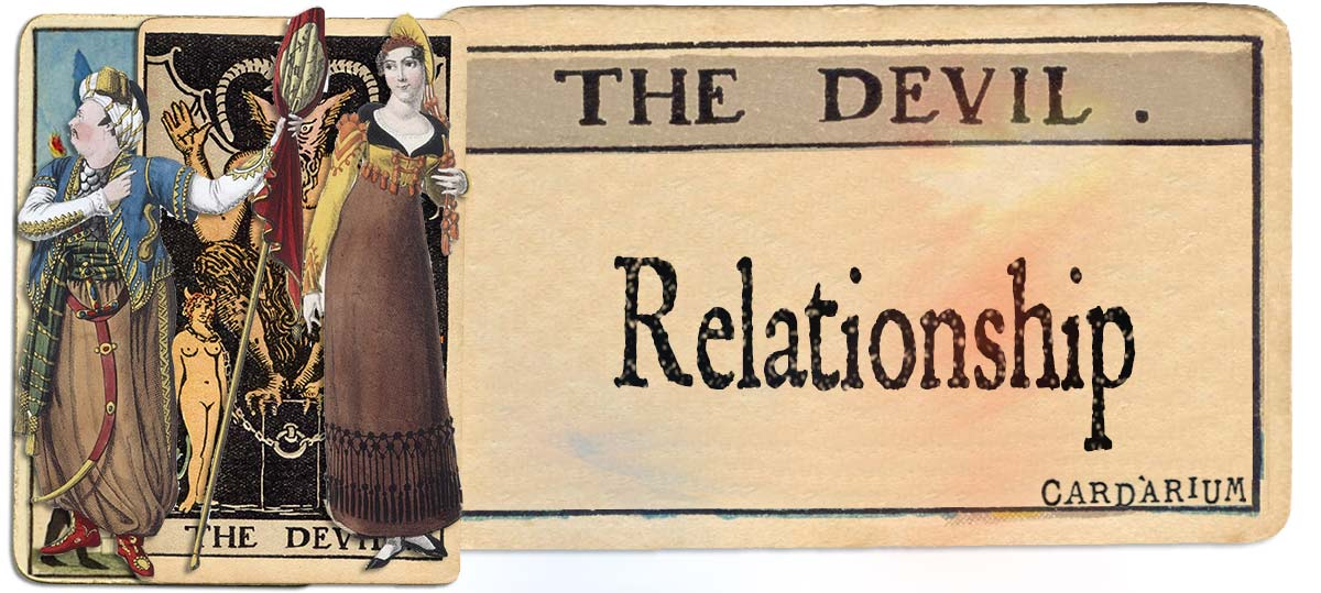 The Devil meaning for relationship