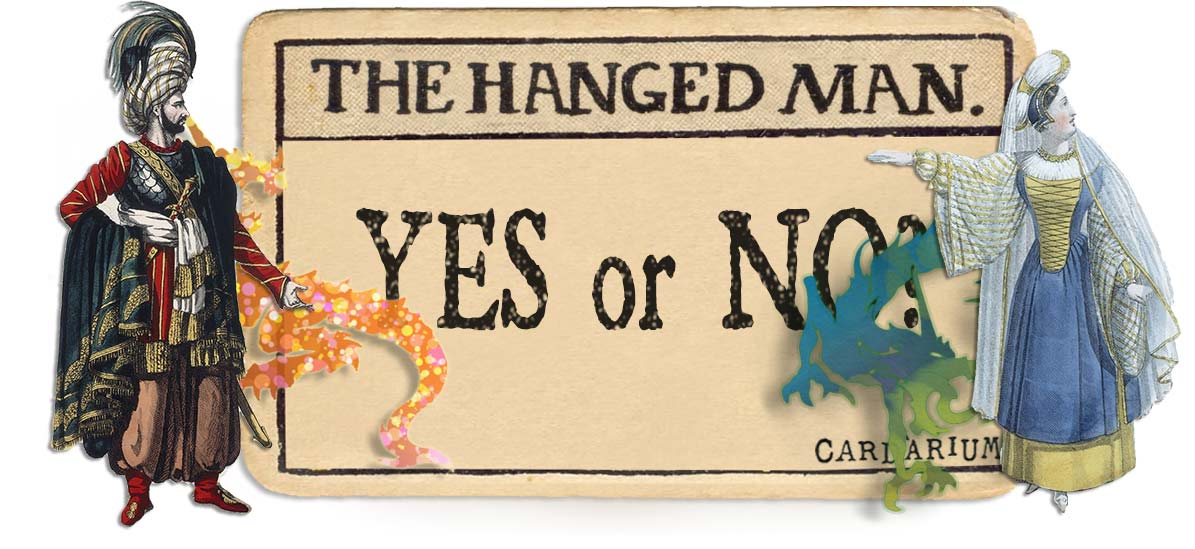The Hanged Man card yes or no main