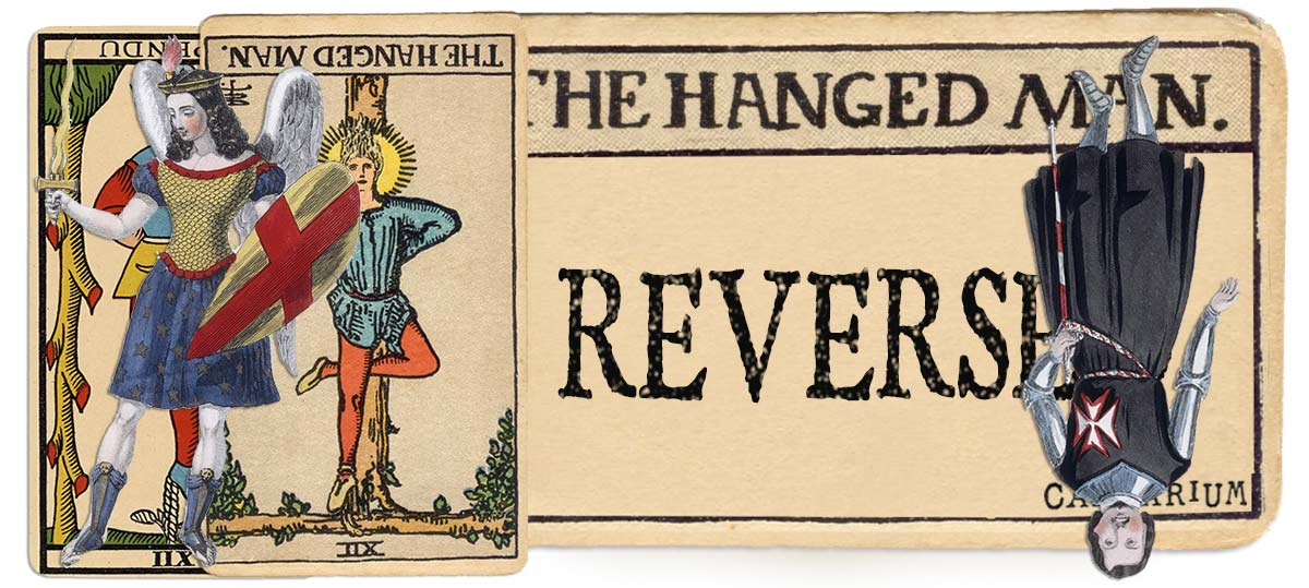 The Hanged Man reversed main meaning