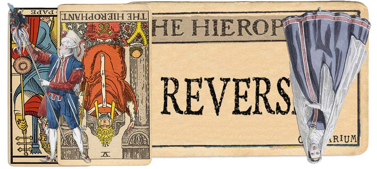 The Hierophant reversed main meaning