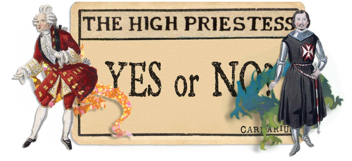 The High Priestess card yes or no main