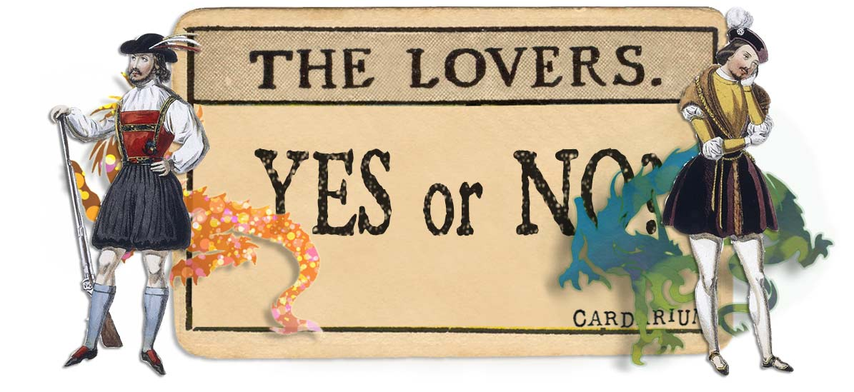 The Lovers card yes or no main