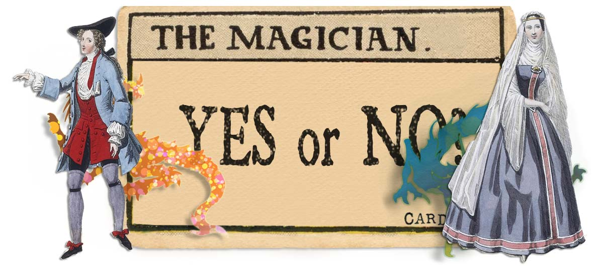 The Magician card yes or no main