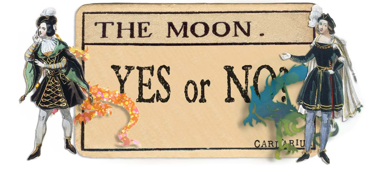 The Moon card yes or no main