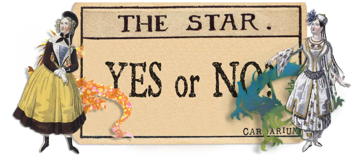 The Star card yes or no main