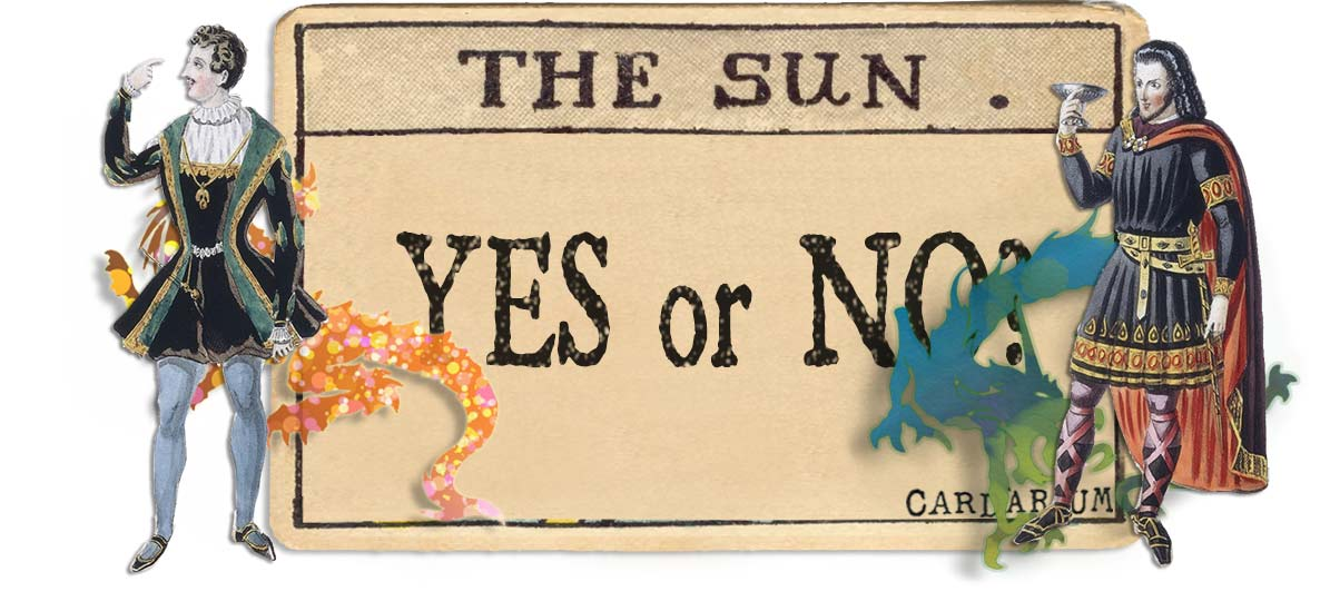 The Sun card yes or no main