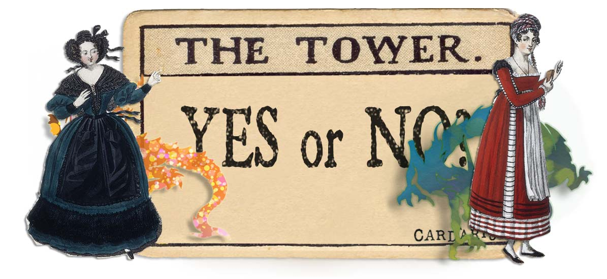 The Tower card yes or no main