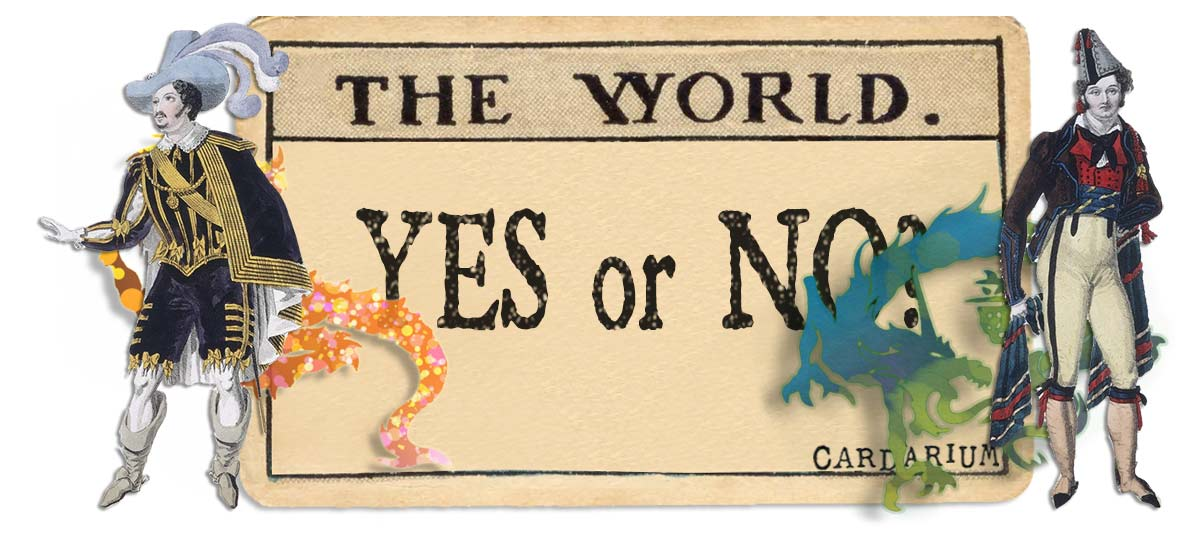 The World card yes or no main