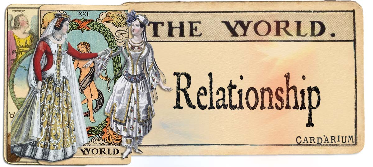 The World meaning for relationship
