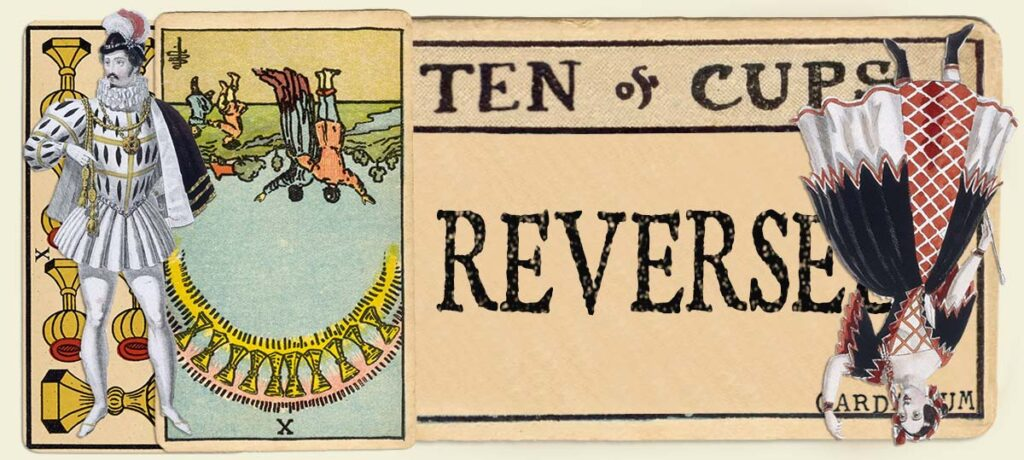 Reversed 10 of cups main section