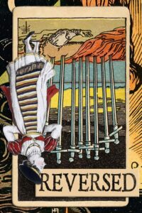 Read more about the article Reversed Ten of Swords Meanings
