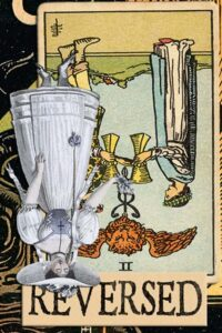 Read more about the article Reversed Two of Cups Meanings