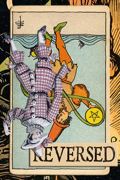 You are currently viewing Reversed Two of Pentacles Meanings