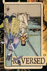 Read more about the article Reversed Two of Swords Meanings