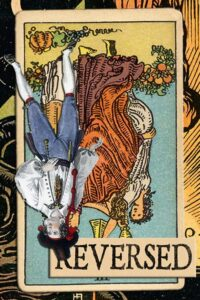 Read more about the article Reversed Three of Cups Meanings