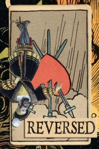 Read more about the article Reversed Three of Swords Meanings