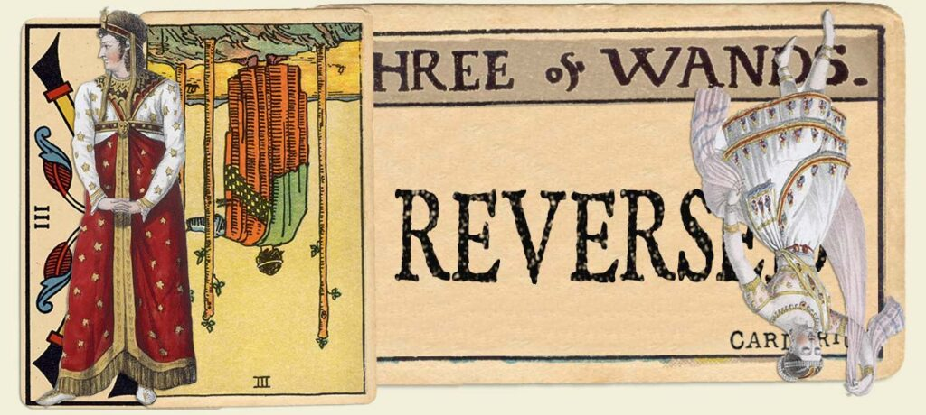 Reversed 3 of wands main section