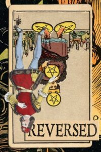Read more about the article Reversed Four of Pentacles Meanings