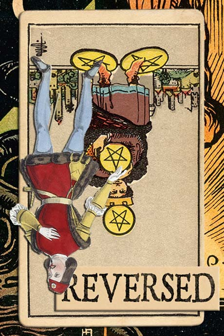 You are currently viewing Reversed Four of Pentacles Meanings