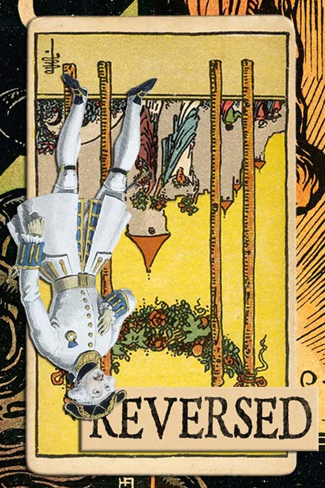 You are currently viewing Reversed Four of Wands Meanings