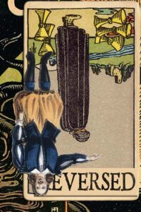Read more about the article Reversed Five of Cups Meanings