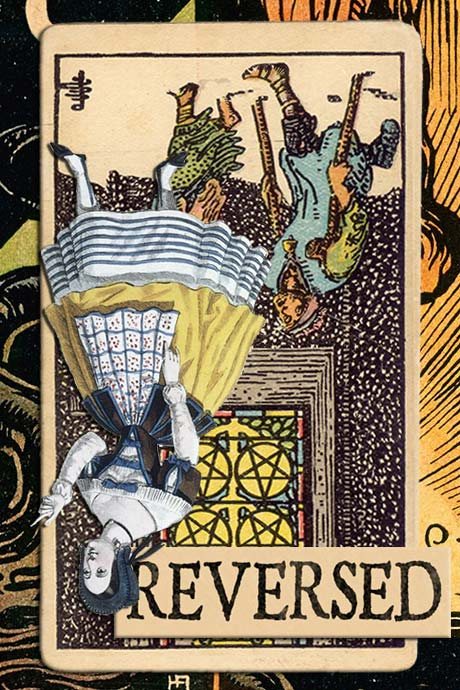 You are currently viewing Reversed Five of Pentacles Meanings