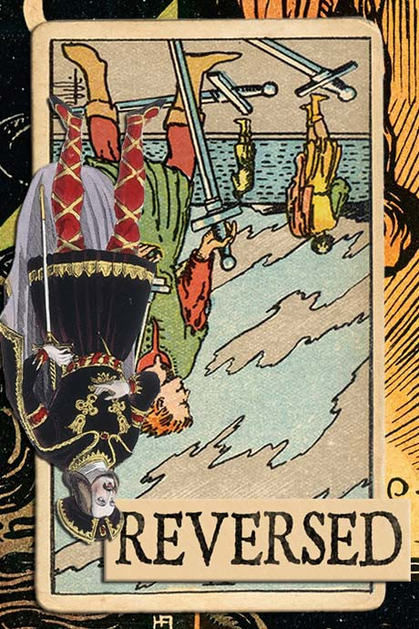 You are currently viewing Reversed Five of Swords Meanings