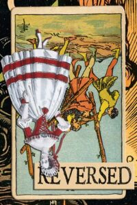 Read more about the article Reversed Five of Wands Meanings