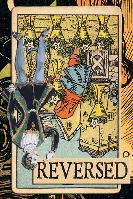 You are currently viewing Reversed Six of Cups Meanings