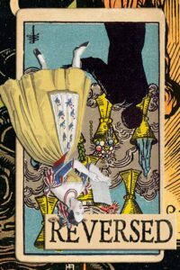 Read more about the article Reversed Seven of Cups Meanings